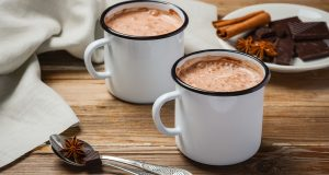 Healthy hot chocolate for diabetics