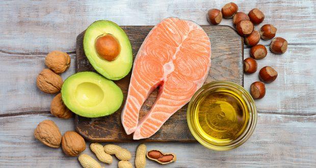 healthy fats - avocado, salmon, nuts