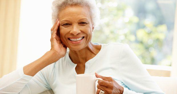 Happy, healthy senior woman