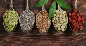 spoonfuls of healthy superfood ingredients